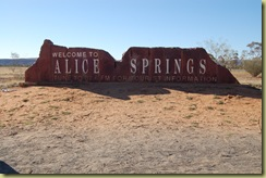 Arriving in Alice