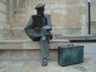 Estatua Valdepeñas