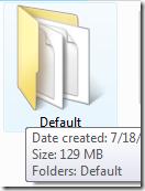 diskspacedefault