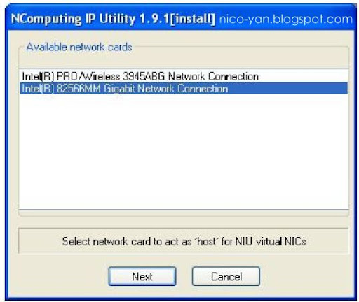 Tutorial installing NIU in Windows