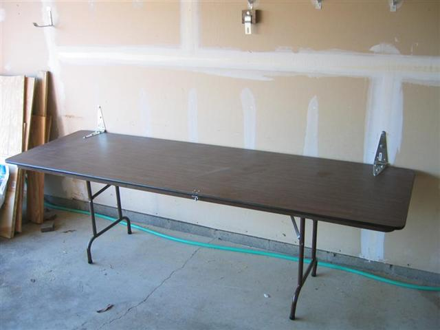 Folding Workbench - Complete