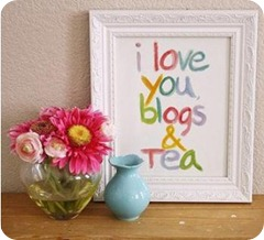 madebygirl i love  you blogs and tea
