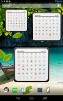 Screenshot of Calendar Widget 2014 Ultimate