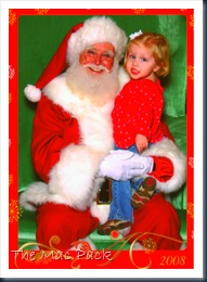 Savannah With Santa
