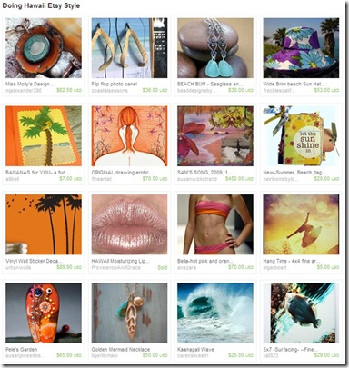 Etsy Treasury_July 2010