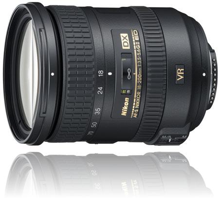 Nikon 18-200mm f/3.5-5.6G AF-S ED VR II Telephoto Zoom Lens