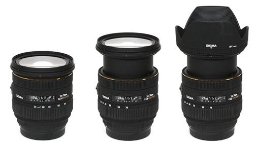 Sigma AF 24-70mm f/2.8 EX HSM DG lens
