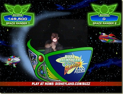 Shawn on Buzzlightyear