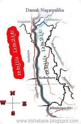 कोहबरा गाविस को भौगोलिक नक्सा