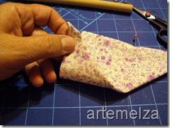 artemelza - sache com dobradura e fuxico