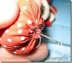 Artemelza - fuxico abóbora