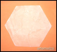 Artemelza - fuxico hexagonal
