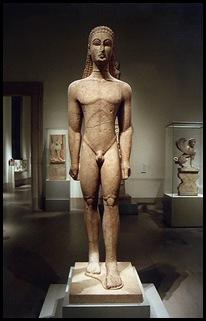 grega periodo arcaico kouros1