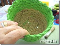 artemelza - decoupage em palha de milho