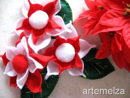 artemelza - flor de feltro