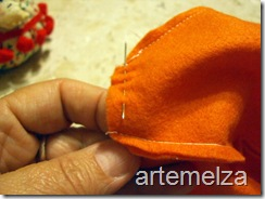 artemelza - enfeite abóbora