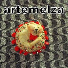 artemelza - alfineteiro gatinho