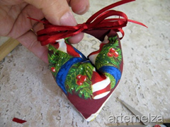 artemelza - enfeite para o natal
