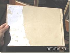 artemelza - envelhecer papel