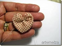 artemelza - coração de fuxico