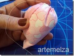 Artemelza - coelha com molde da coruja -11