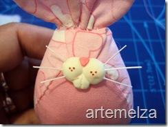 Artemelza - coelha com molde da coruja -26