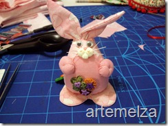 Artemelza - coelha com molde da coruja -41