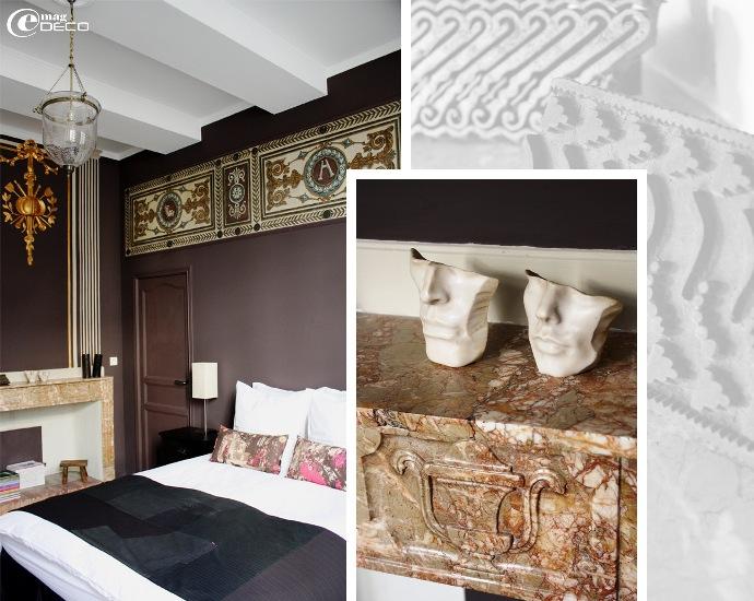 La chambre 001 de la maison d'hôtes L'Albiousse
