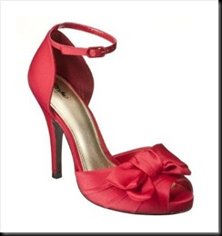 Mossimo Isha Satin Pump Red