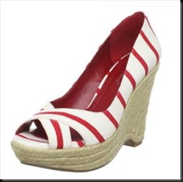 BCBGeneration Tapis Espadrille Red-White