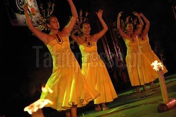 Le groupe à Hianau de UA POU. Photo : TAHITI Presse
