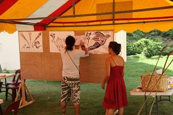Expo de dessins des élèves du PEL