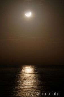 Lever de Lune à UA POU