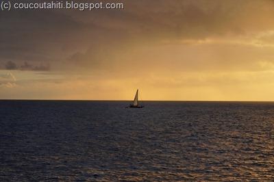 Petit bateau dans l'immensité...