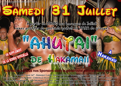 Affiche Juillet 2010 AHUTAI
