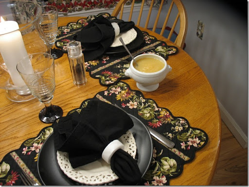 placemats hg pier one black plates stems pfaltzgraff white lace salad christmas tree shop alabaster napkin ring wsonoma outlet