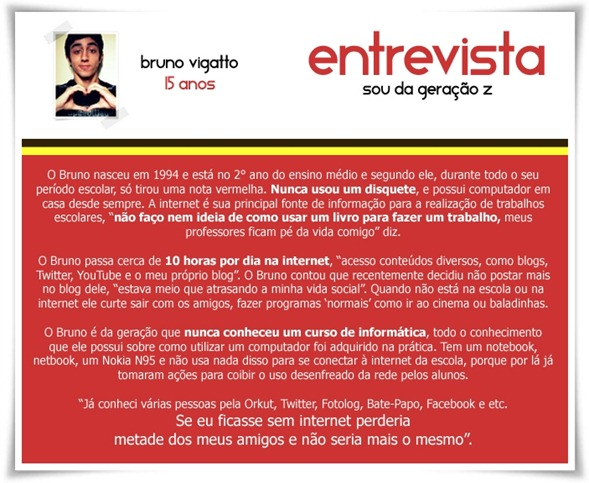 Entrevista - Geração Z