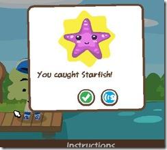 Pet Society Fishing - Starfish
