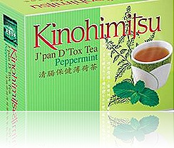 Kinohimitsu J'pan D'Tox Tea Peppermint