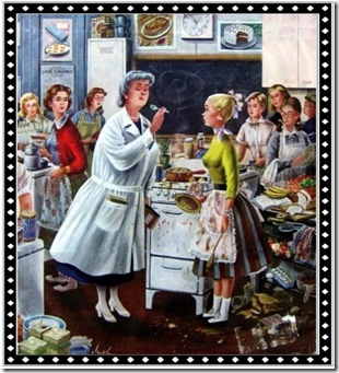 1950's Home Ec Class