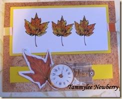 leaves w name