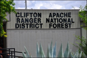 3. clifton ranger district 58g