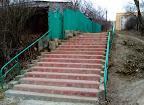 лестница на пути в больницу