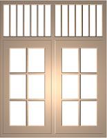 kusen jendela 2 lobang jendela dengan model jalusi model jendela