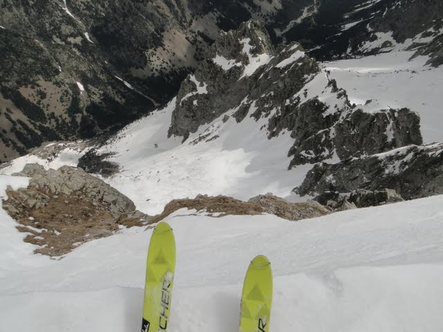 1000 metros más abajo, barrosa