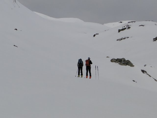 una pareja de franceses que se rendirán sin llegar a cima