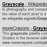 google grayscale Presenting: Google Colors, a whole new Google experience.