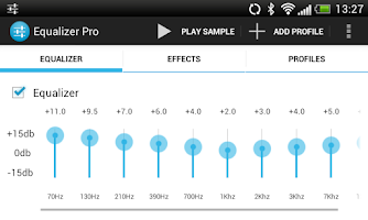 Screenshot of Equalizer Pro (Free)