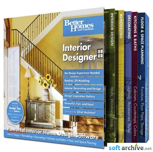Better Homes & Gardens - Interior Designer v7.08
