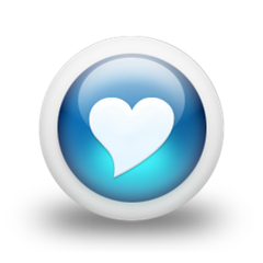 CleanHeart-Glossy_3d_blue_heart